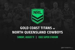 Gold Coast Titans vs North Queensland Cowboys