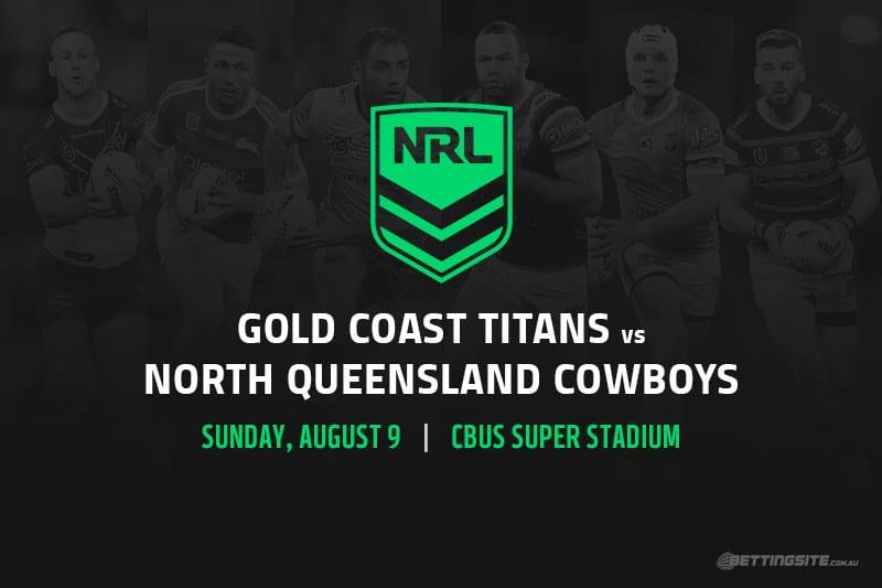 Gold Coast Titans vs North Queensland Cowboys