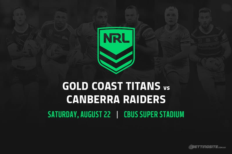 Gold Coast Titans vs Canberra Raiders