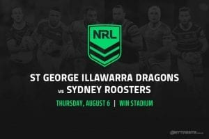 St George Illawarra Dragons vs Sydney Roosters