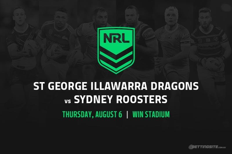 St George Illawarra Dragons vs Sydney Roosters