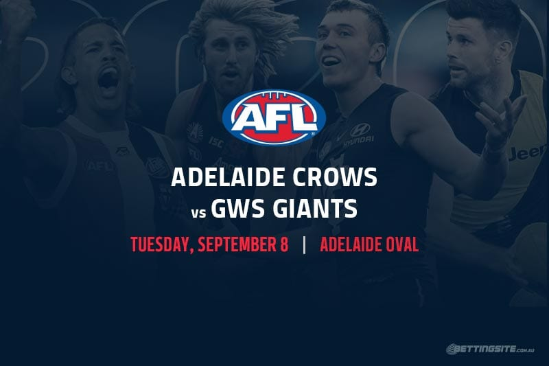 Crows vs Giants AFL betting tips