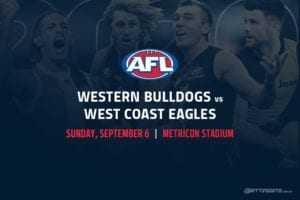 Bulldogs vs Eagles AFL betting tips