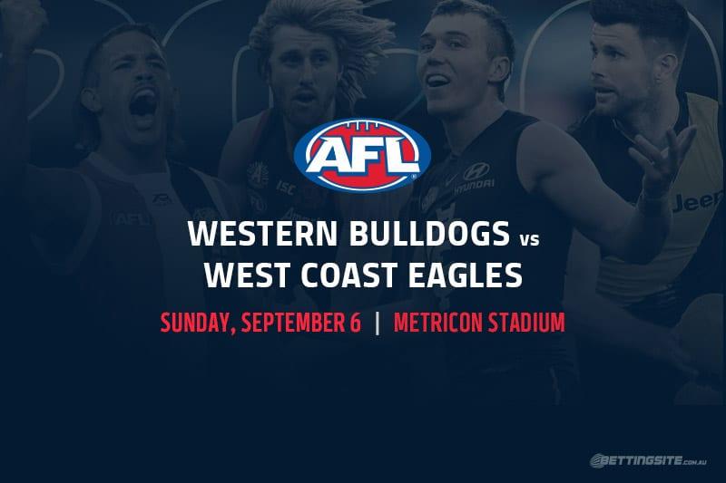 Bulldogs vs Eagles AFL betting tips
