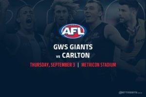 Giants vs Blues AFL betting tips