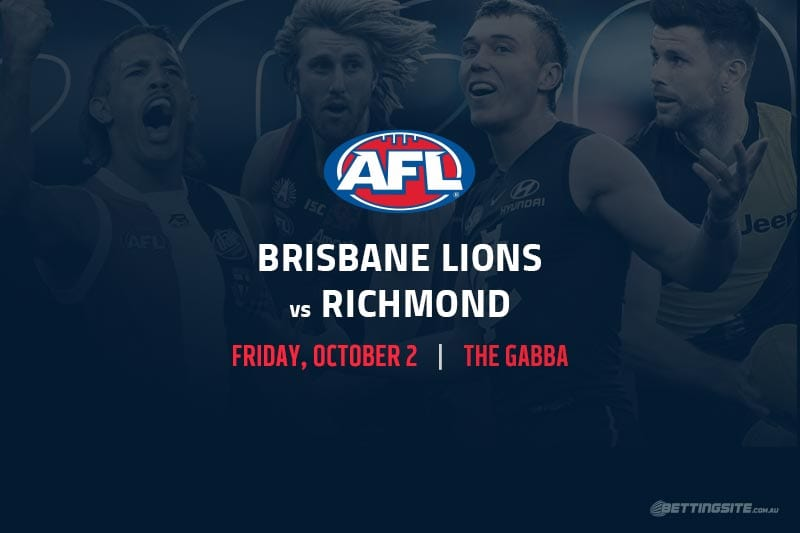 Lions vs Tigers AFL Finals 2020