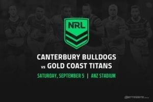 Canterbury Bulldogs vs Gold Coast Titans