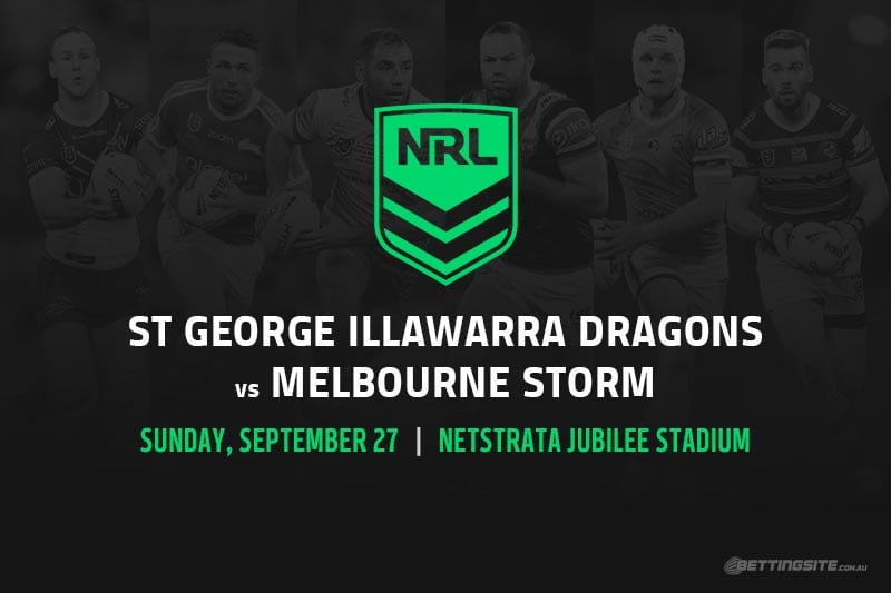 St George Illawarra vs Melbourne