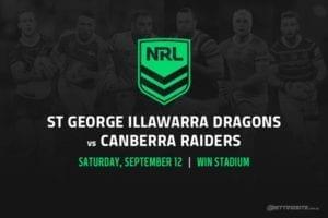 St George Illawarra Dragons vs Canberra Raiders