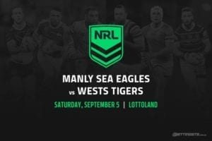 Manly Sea Eagles vs Wests Tigers
