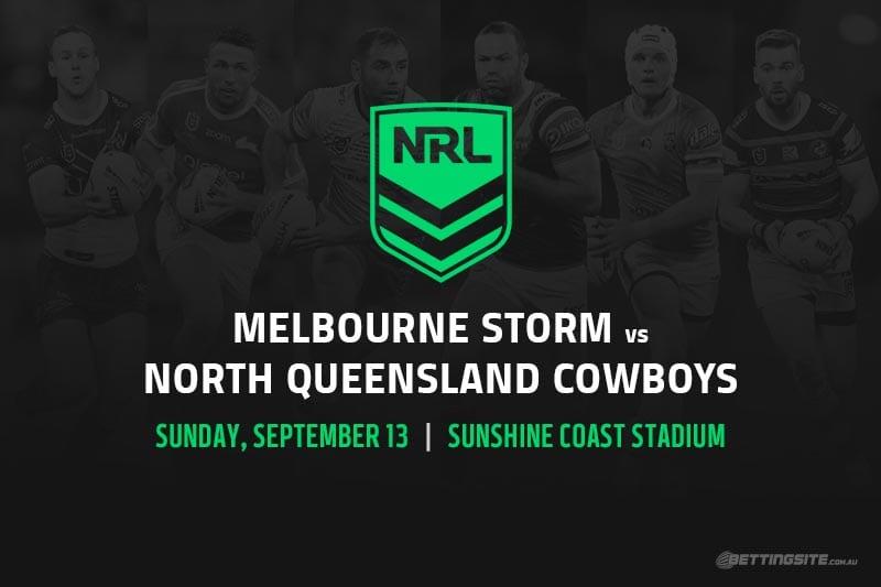 Melbourne Storm vs North Queensland Cowboys