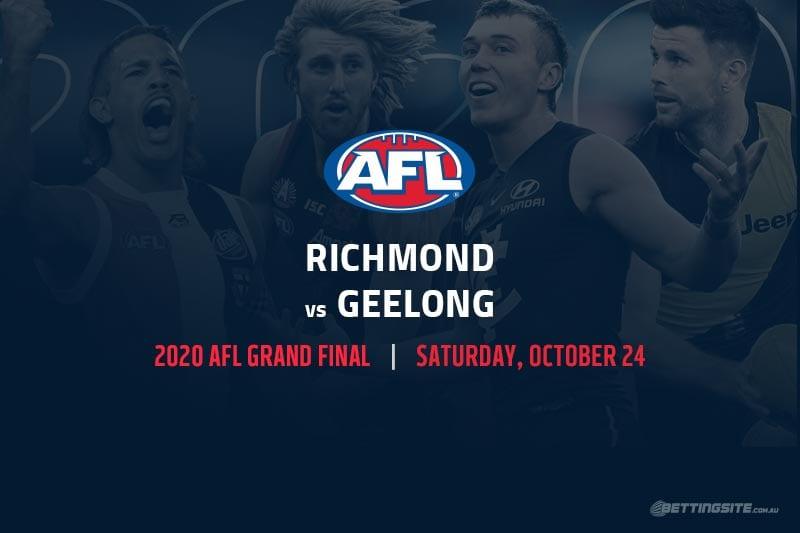 Richmond vs Geelong AFL Grand Final 2020