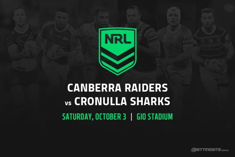 Canberra vs Cronulla NRL Finals 2020