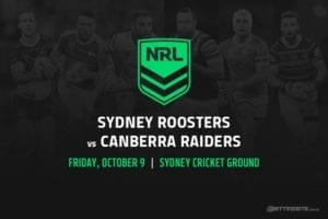 NRL Finals 2020 Roosters vs Raiders