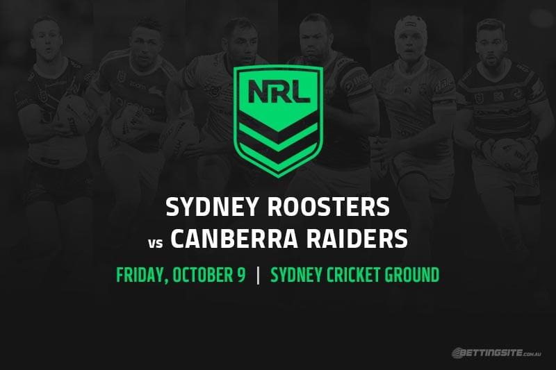 NRL Finals 2020 Roosters vs Raiders