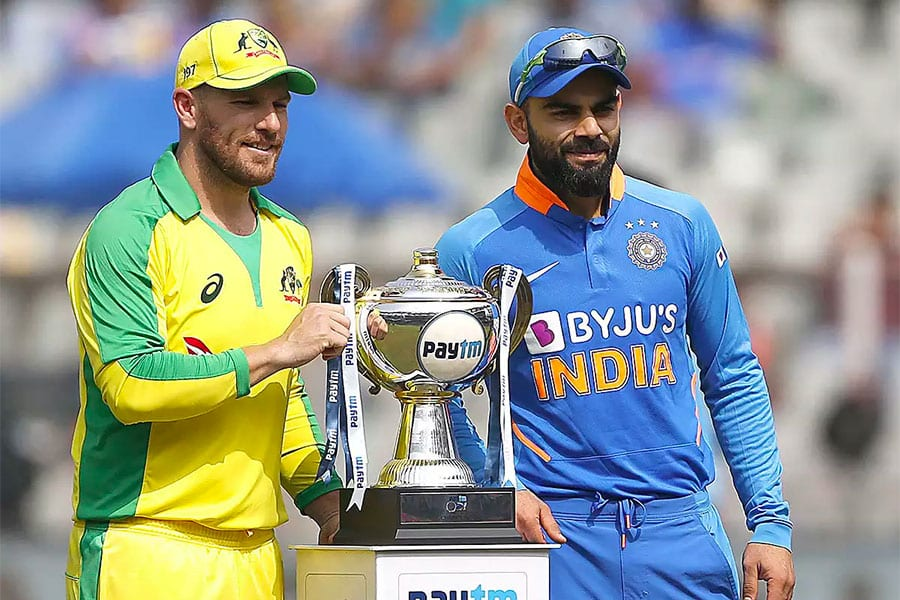 Australia vs India cricket odds