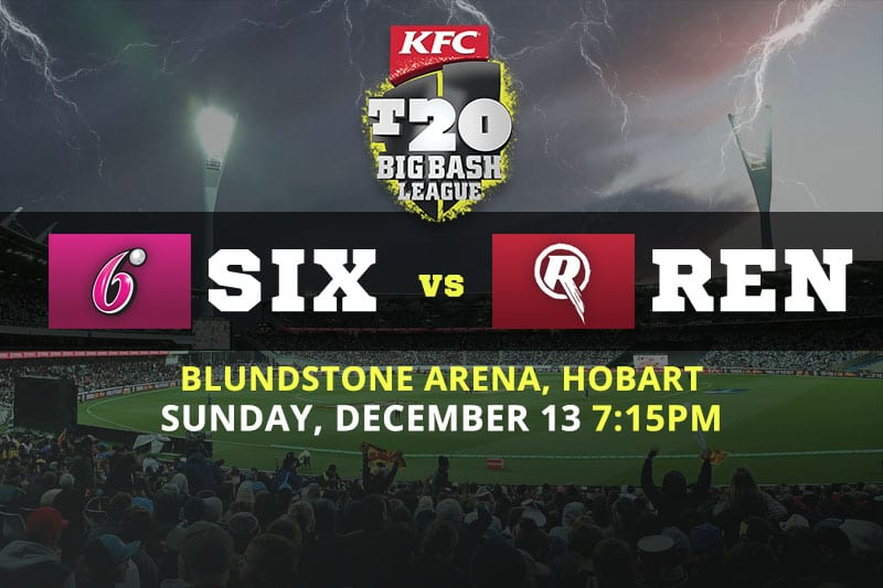 Sixers vs Renegades