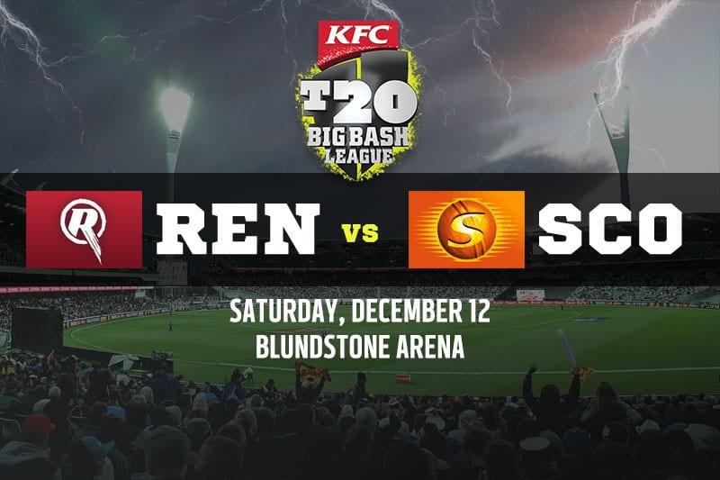 Melbourne Renegades vs Perth Scorchers
