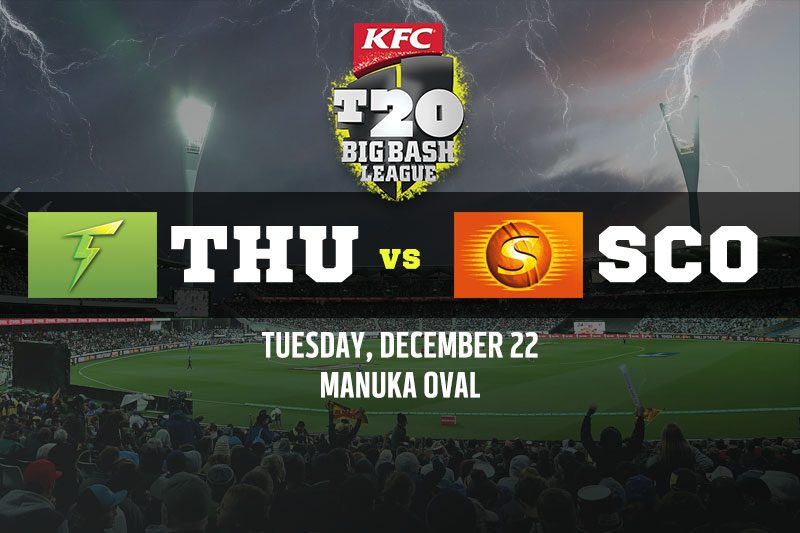 Sydney Thunder vs Perth Scorchers