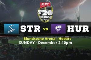 Strikers vs Hurricanes