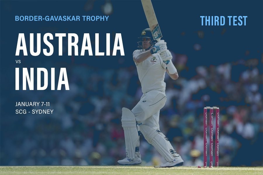 Australia vs India tips and betting update; third Test preview 7/1