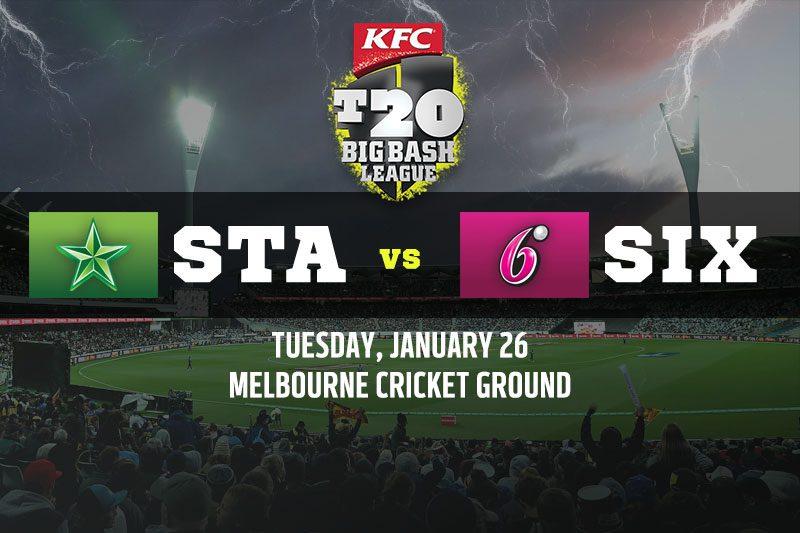 Melbourne Stars vs Sydney Sixers