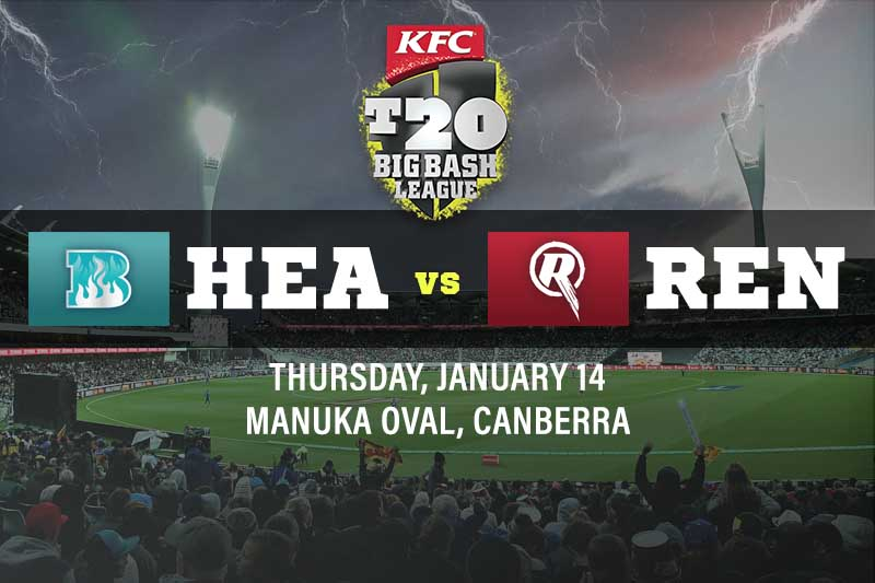 Brisbane Heat v Melbourne Renegades tips and best bets, BBL 10 preview 14/1