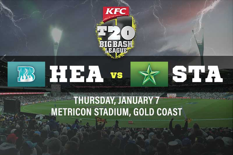 Brisbane Heat v Melbourne Stars tips for Thursday, January 7 2021