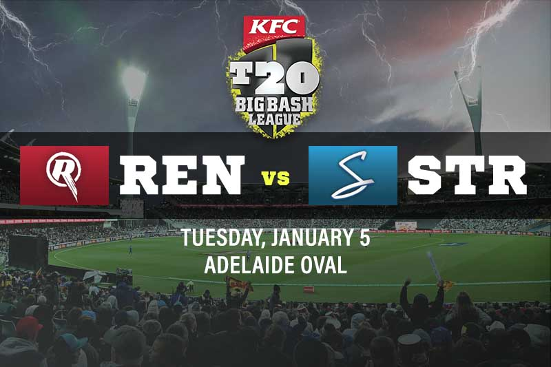 Melbourne Renegades v Adelaide Strikers tips, BBL 10 betting preview