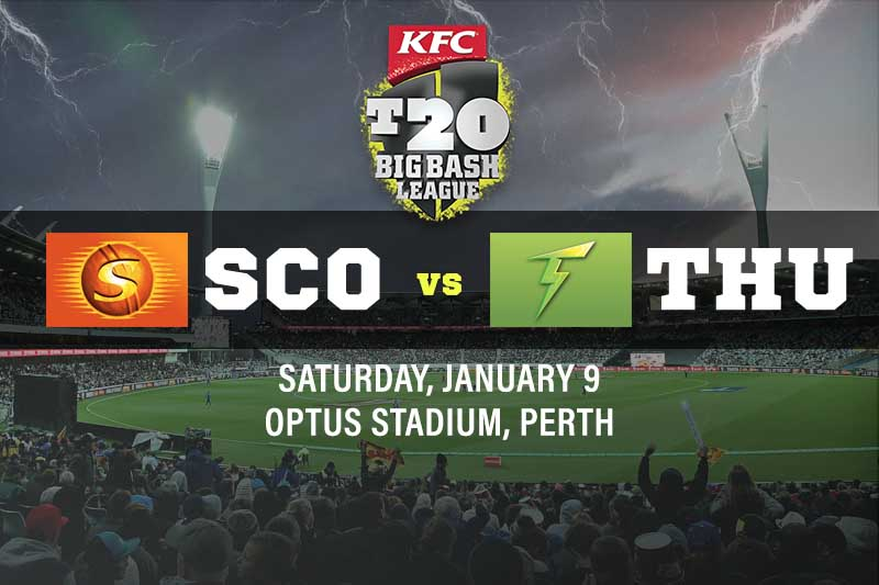Perth Scorchers v Sydney Thunder tips and best bets; BBL preview January 9