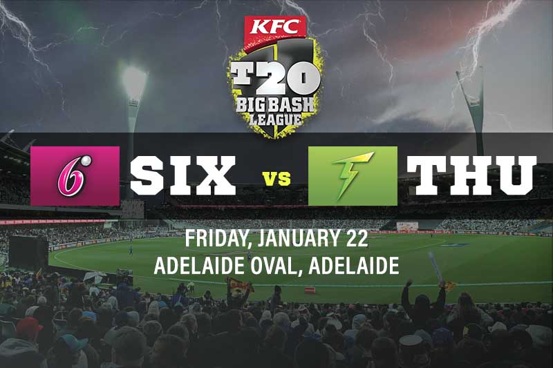 Sydney Sixers v Sydney Thunder betting tips for January 22 2021