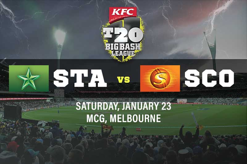 Melbourne Stars v Perth Scorchers tips and best bets for January 23