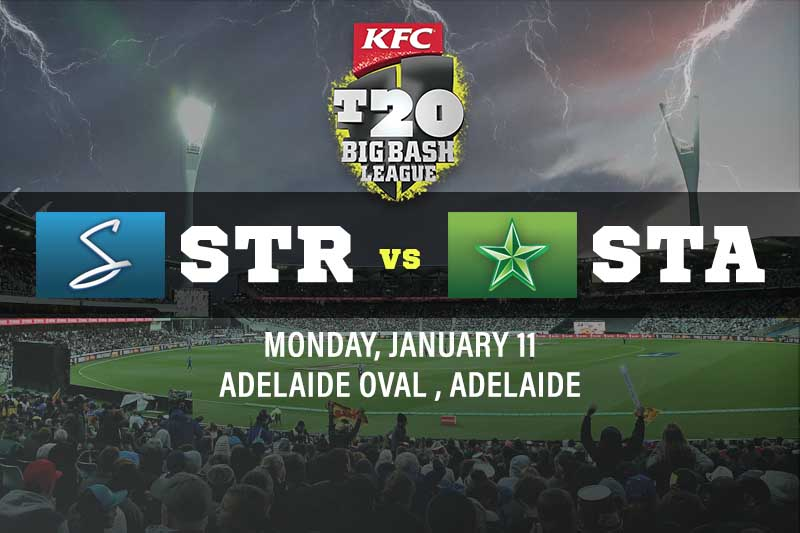 Adelaide Strikers v Melbourne Stars tips and best bets for January 11 2021