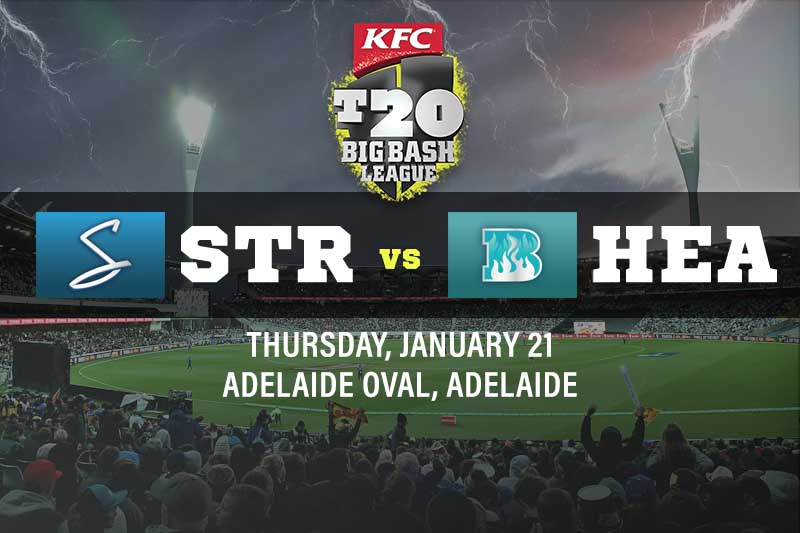 Adelaide Strikers v Brisbane Heat betting tips and best bets - BBL10 preview 21/1