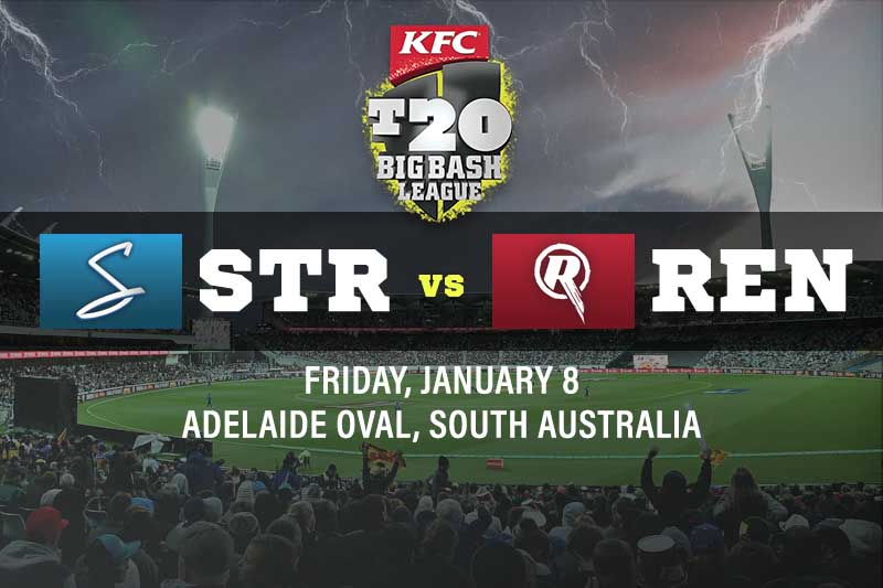 Adelaide Strikers v Melbourne Renegades tips and best bets; BBL10 Preview 8/1