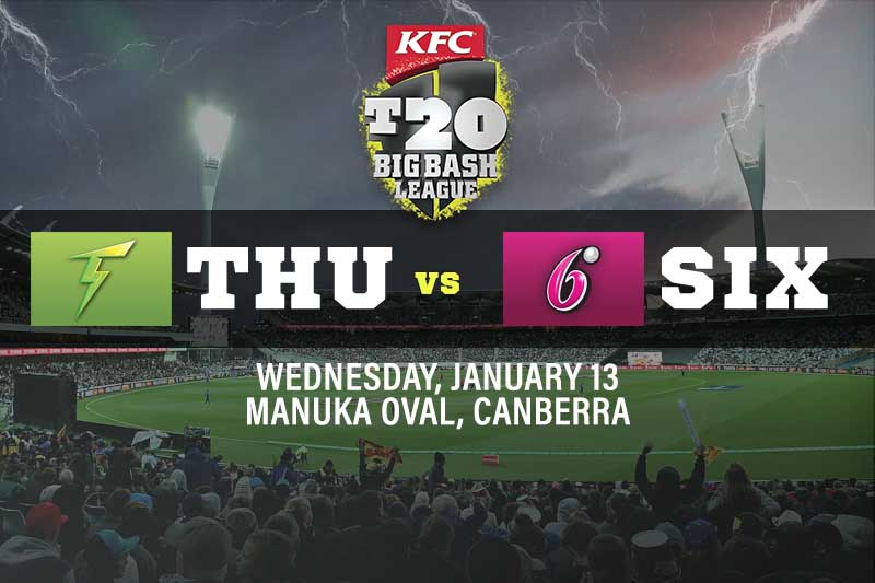 Sydney Thunder v Sydney Sixers betting tips and best bets for January 13