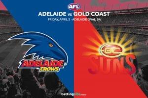 Crows Suns AFL tips