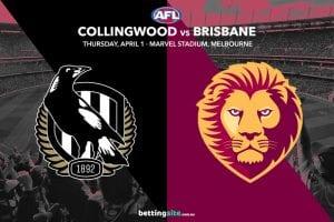Magpies vs Lions AFL tips