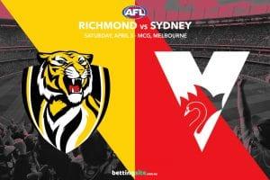Tigers vs Swans AFL tips
