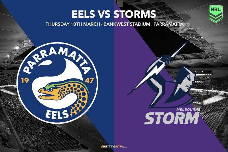Parramatta Eels vs Melbourne Storm