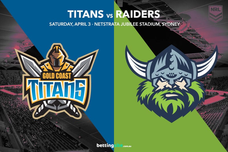 Gold Coast Titans vs Canberra Raiders