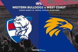 Bulldogs vs Eagles AFL tips