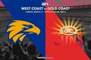 Eagles vs Suns AFL tips