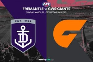Dockers vs Giants AFL tips