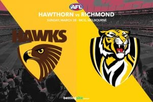 Hawks vs Tigers AFL tips