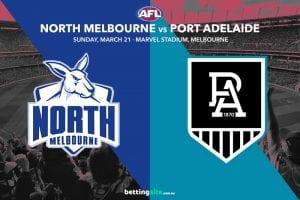 Kangaroos vs Power AFL tips
