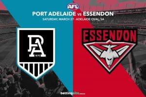 Power vs Bombers AFL tips