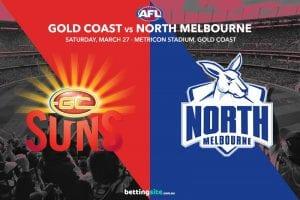 Suns vs Kangaroos AFL tips