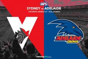 Sydney Swans vs Adelaide Crows
