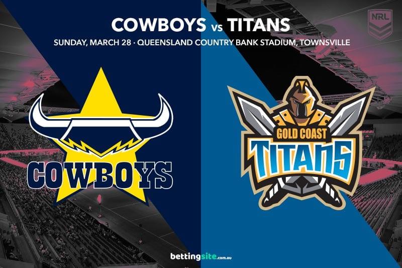 Nth Queensland Cowboys vs Gold Coast Titans